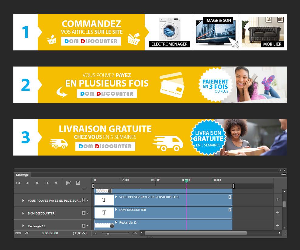 cration d 39 animation flash pour site internet. Black Bedroom Furniture Sets. Home Design Ideas