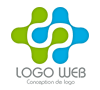 Création de logo web pour site internet de présentation