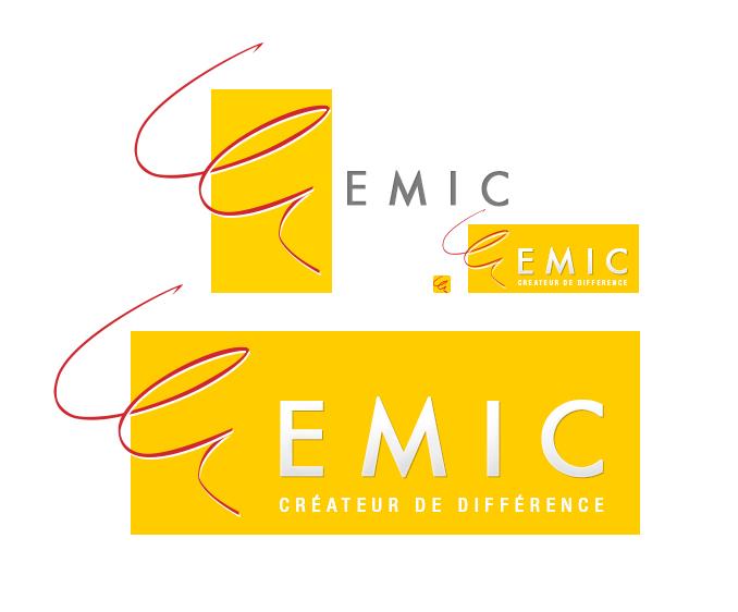Création du logo d'entreprise Emic