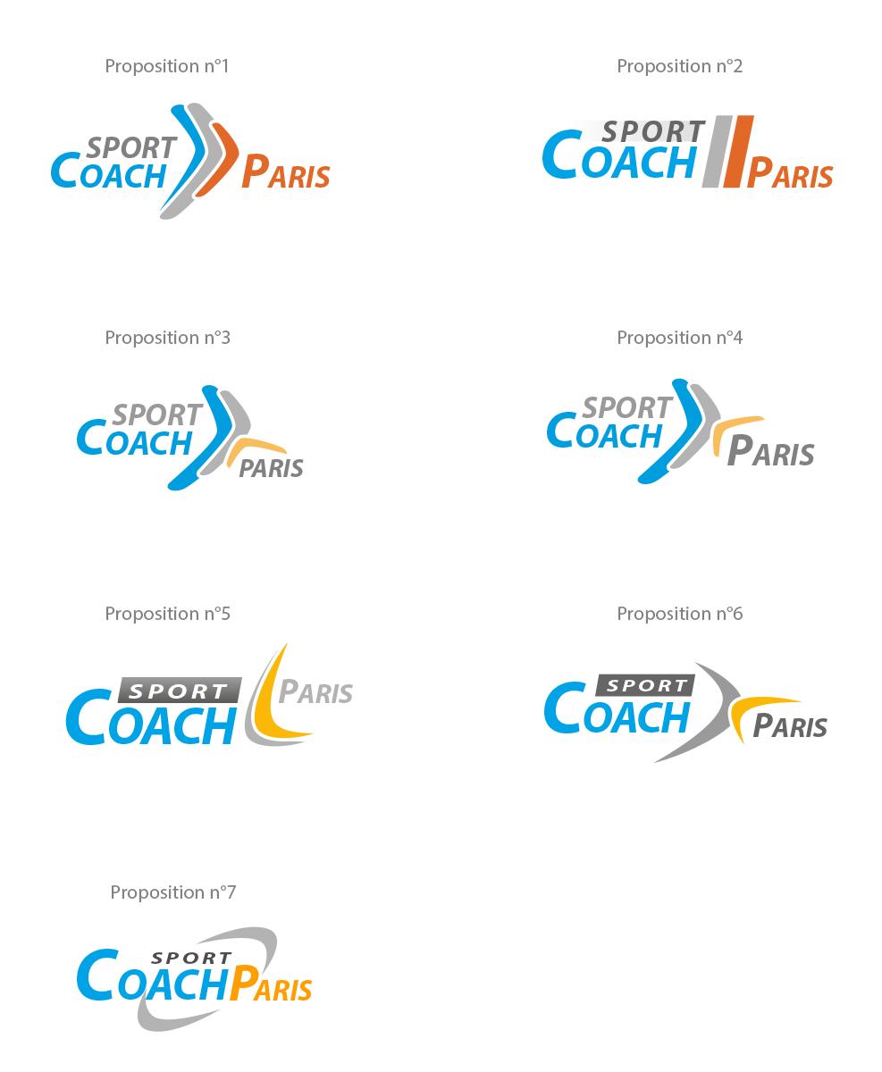 Planche de propositions de logos