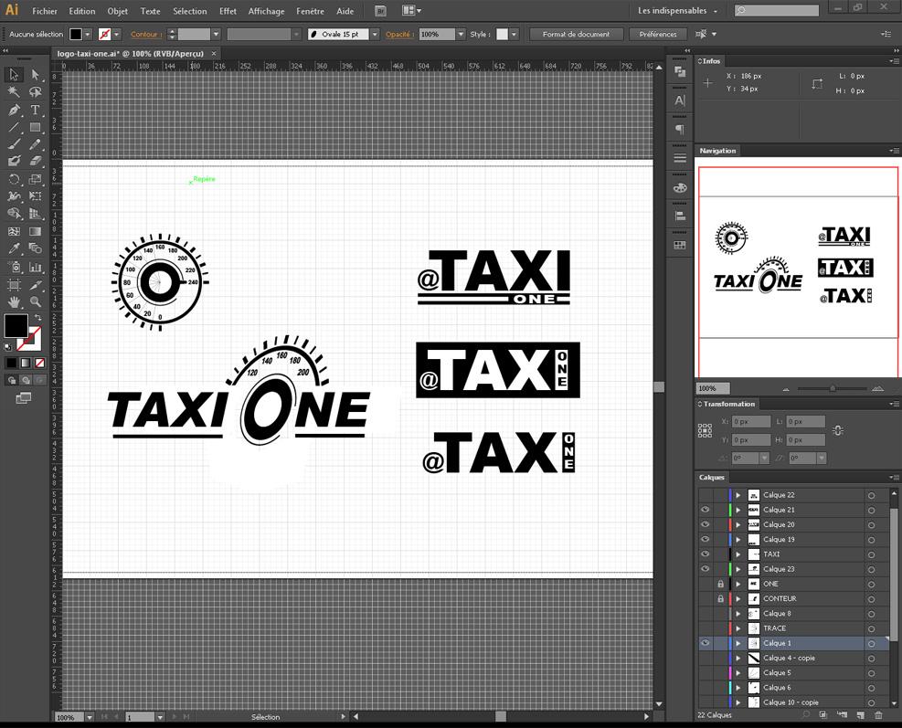 creation logo illustrator