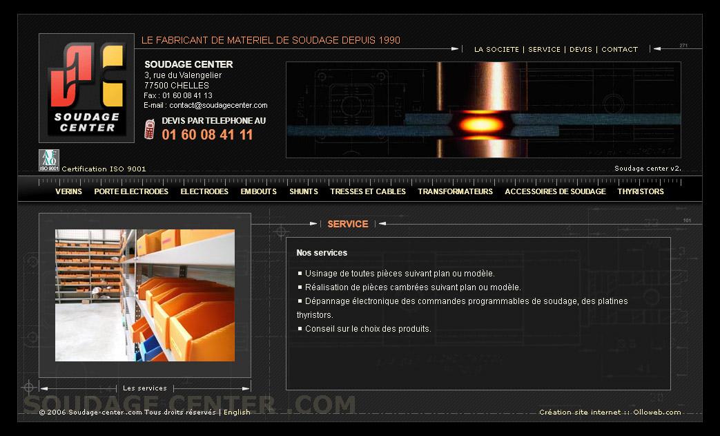 Création de site internet à Chelles sur le soudage
