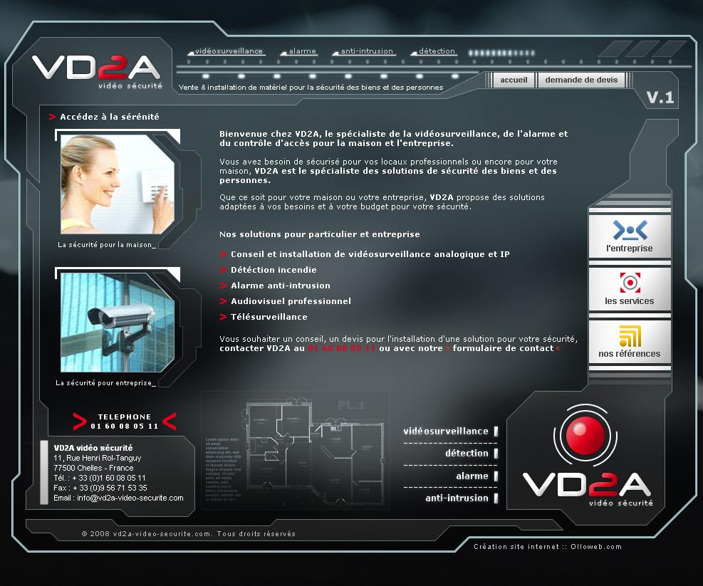 Création de site sur la sécurité