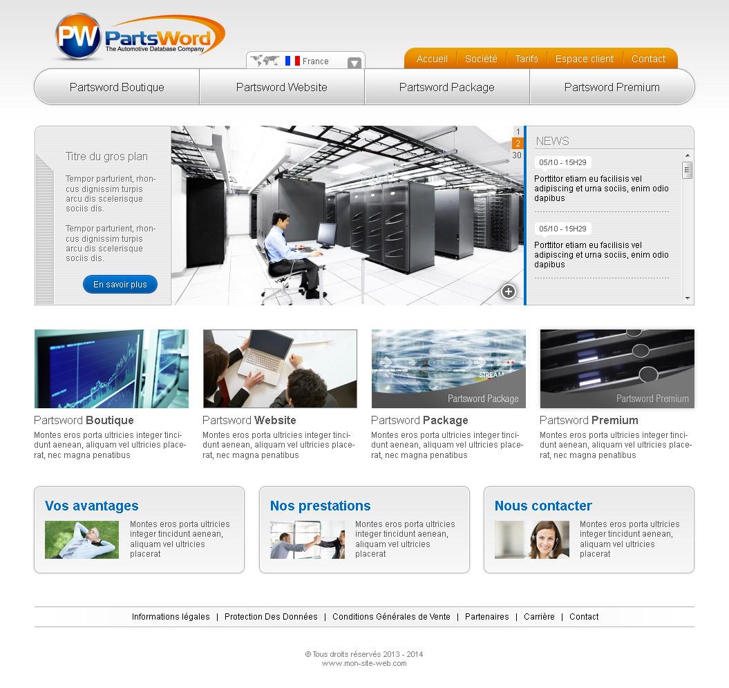 Création de site internet automobile
