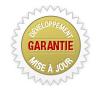 Garantie pour site internet