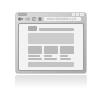 Production de la page d'accueil du site internet