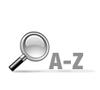 Recherche par A-Z dans le site e-commerce