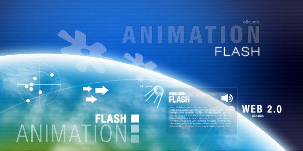 Création d'animation Flash