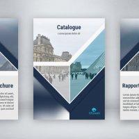 Création de catalogues ou brochures d'entreprise