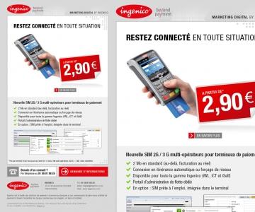 Conception d'un emailing sur les offres Ingenico