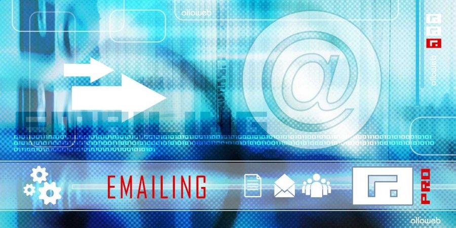 Création d'emailing créatif