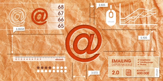 Cr�ation d'emailing depuis mod�le
