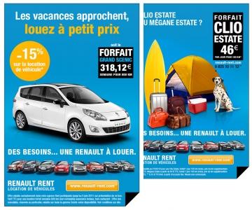 Création d'emailing pour Renault Ren