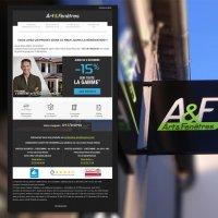 Création d'un emailing pour l'entreprise Art & Fenêtre