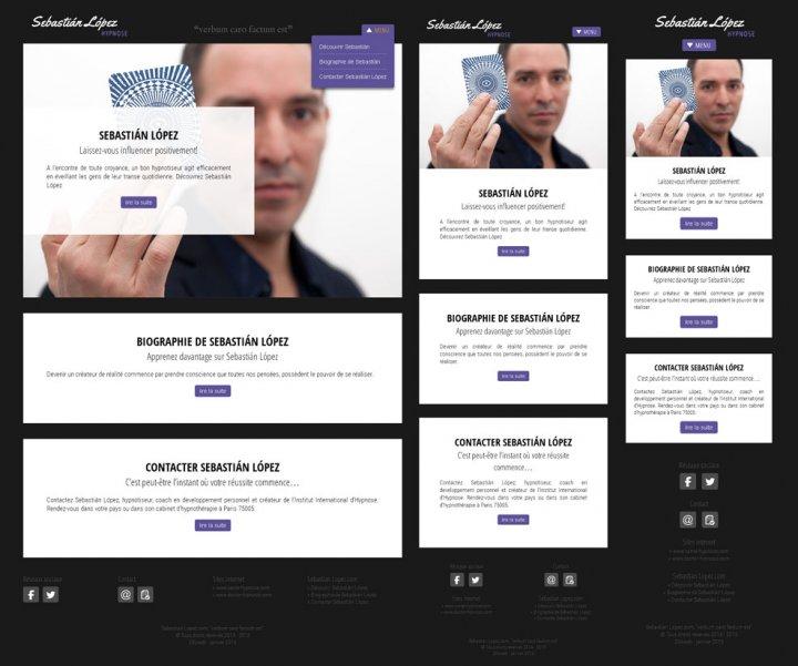 Création de mini site internet