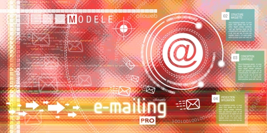 Cr�ation de mod�le d'emailing pro