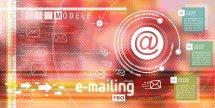 Création de modèle d'emailing pro