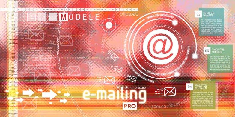 Création de modèle d'emailing professionnel