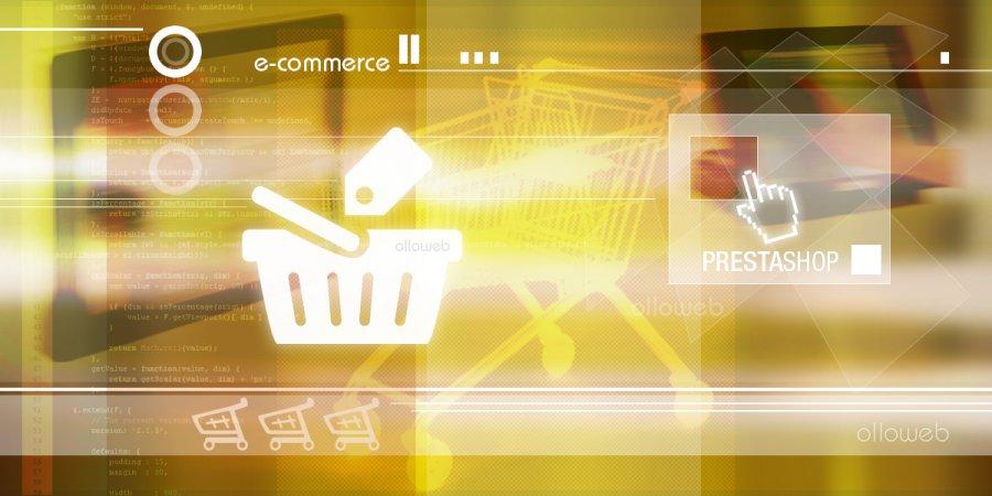 Création de site e-commerce PrestaShop