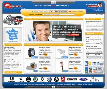 Création d'un site e-commerce automobile