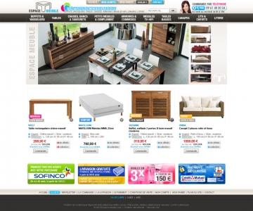 Création d'un site e-commerce de mobilier