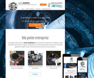 Création de site internet pour petite entreprise