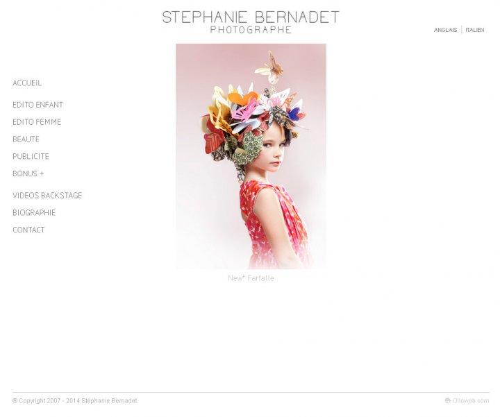 Création de site internet pour photographe