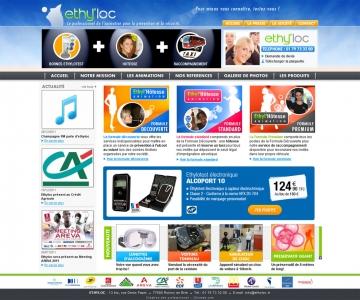 Création d'un site internet de présentation d'activité