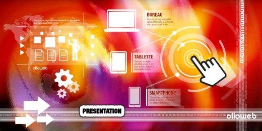 Création de site de présentation pro
