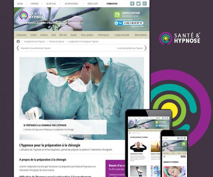 Création du site Santé & Hypnose