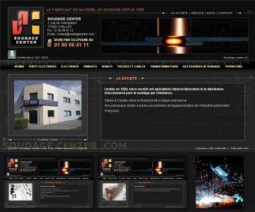 Création de site internet de soudage à Chelles