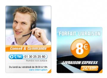 Création de visuel pour un site e-commerce
