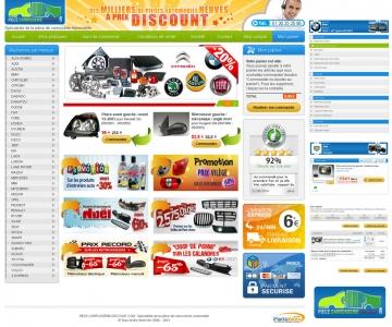 Création d'une déclinaison de site e-commerce