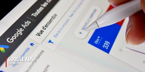Création et gestion de campagnes Google Ads
