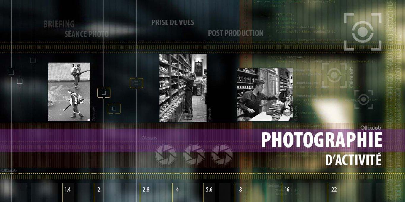 Création de photographies pour entreprise