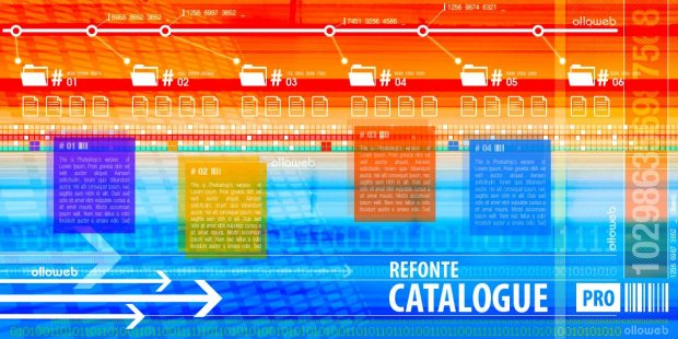 Refonte de site de catalogue pro