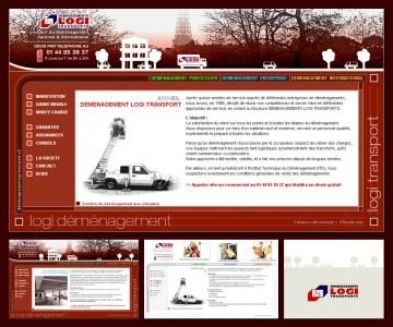 Création de site internet de déménagement