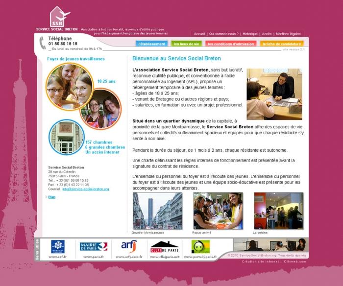 Création de site internet d'association