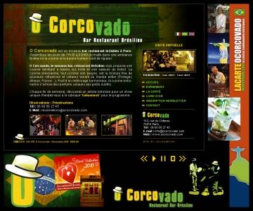 Création puis refonte de site internet de restaurant