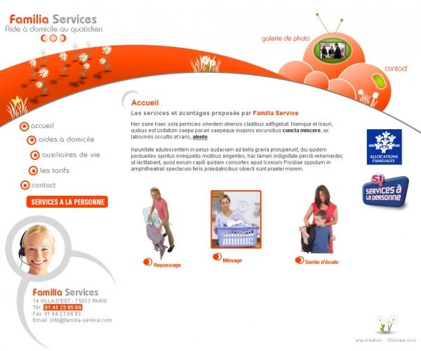 Création d'un site internet de service à la personne
